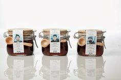 7 Creative Package Designs For Bottles and Jars Honey Packaging, Juice Packaging, Bottle Packaging, Pretty Packaging, Brand Packaging, Luxury Packaging, Honey Bottles, Bottles And Jars, Food Packaging Design
