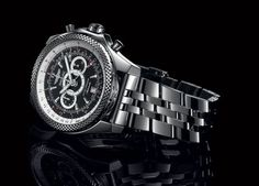 As part of its Breitling for Bentley series, Breitling introduced the Bentley Supersports Chronograph, a limited-edition timepiece made as a tribute to the Continental Supersports, the fastest and most powerful Bentley car ever manufactured, and holder of the world ice speed record.