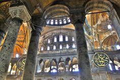 Istanbul: Hagia Sophia Byzantine Architecture, Gothic Architecture, Aya Sophia, Hagia Sophia Istanbul, Blue Mosque, Early Christian, Ottoman Empire, Roman Catholic, Islamic Art