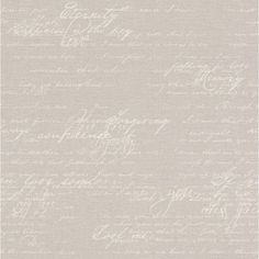 Galerie Wallcoverings Script Writing L x W Wallpaper Roll Color: Mink New Wallpaper, Photo Wallpaper, Wallpaper Roll, Wall Writing, Script Writing, Office Fashion Women, Womens Fashion For Work, Women's Fashion, Letters And Numbers