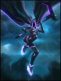 Tron Reaper by ~Niconoff on deviantART