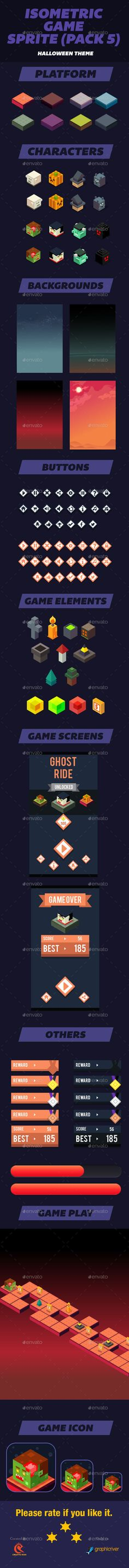 Isometric Game Assets Halloween Download here: https://graphicriver.net/item/isometric-game-assets-halloween/15091405?ref=KlitVogli