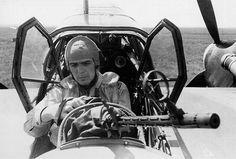 Bf110 G2, with his machine gun Mg15