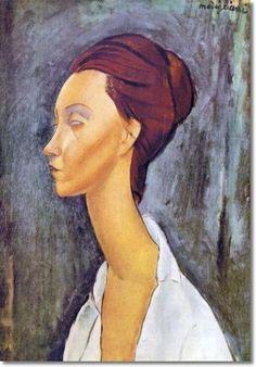 Amedeo Modigliani - Retrato de Lunia Czechowska 1919