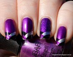 Creative purple design.