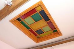 Bedroom Ceiling #StainedGlass