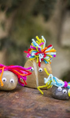 Pet Rocks: so simple but something that the kids would love