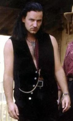 Bono. Joshua Tree era. You are welcome.  I don't care that I am a girl....I would wear this.