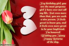 21 Best Birthday Wishes For Girlfriend Images