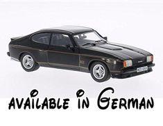 B00VJZI0LG : Ford Capri MKII 3.0S X-Pack schwarz 1976 Modellauto Fertigmodell Neo 1:43. Baujahr : 1976. Maßstab : 1:43. Bauart : Fertigmodell. Material : Resine. Marke : Ford