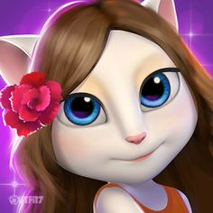 The more you smile, the prettier you are! xo, Talking Angela #TalkingAngela #MyTalkingAngela #LittleKitties #Smile #Happy #Pretty #GoodLooking #GoodLook #BeautyTip #FeelingGood #PrettyFace