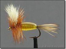 Humpy, Wulff, Yellow