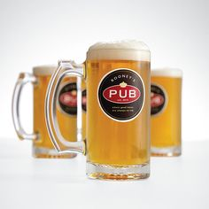 personalized beer mugs from Red Envelope
