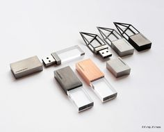 These 'Empty Memory' USB sticks by Poetic Lab are simply beautiful.