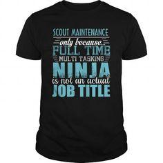 I Love  SCOUT MAINTENANCE Ninja T-shirt T shirts