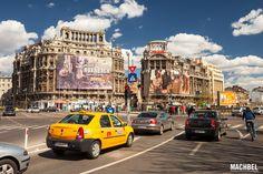Taxi Dacia por las calles de Bucarest Bucarest Rumania by machbel Times Square, Travel, Bucharest Romania, Fotografia, Viajes, Trips, Traveling, Tourism, Vacations