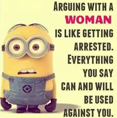 Arguing with a woman C0908