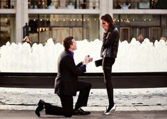 Proposal photography | Engagement shot by Katie Jane photography