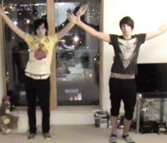Okay, Phil Dan dancing. You're welcome. (gif)