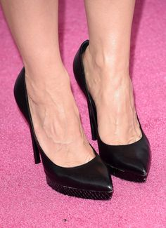 5841e894ce6c jessica chastain s saint laurent pumps at the film independent spirit  awards.  shoeporn Jessica Chastain