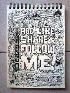 Add, Like, Share and Follow Me!!! by kerbyrosanes.deviantart.com on @DeviantArt