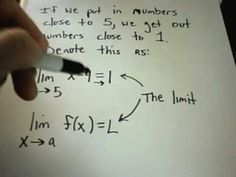 1st semester of calc.