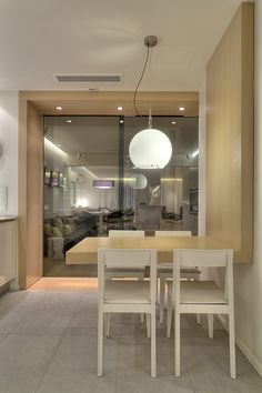 design by Whitebox Architects Architects, Architecture Design, Dining Table, House Design, Kitchen, Furniture, Home Decor, Doors, Interior Design