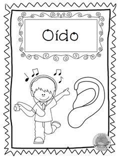 los-5-sentidos-21 Activities For Boys, Hands On Activities, Preschool Activities, Spanish Teaching Resources, Bilingual Classroom, School Lessons, Childhood Education, Pre School, Kindergarten
