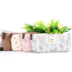 Floral Fabric Student Coin Purse //Price: $5.96 & FREE Shipping // #purse #backpack #bagsdesigns