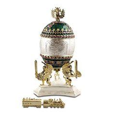 Trans-siberian Railway Faberge Egg