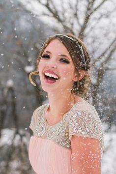 Winter bridal hair and makeup Formal hair Formal makeup Www.rougebym.com