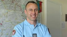 This is Arnaud Beltrame, this guy is a hero. He ask the terrorist to release a woman and take him as a hostage instead.