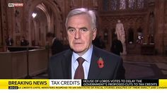 """Shadow Chancellor John McDonnell MP: """"George Osborne's got to think again"""" over proposed tax credit cuts"""