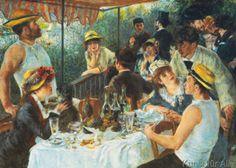 Pierre Auguste Renoir - La colazione dei canottieri