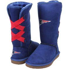New England Patriots Cuce Women's Conqueror Boots