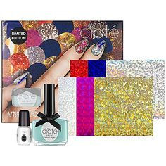 Don't have time to stop at the salon for a manicure? Try some do-it-yourself nail art with Ciaté's Very Colourful #Manicure set from @Sephora  at #CityPlace #Prom
