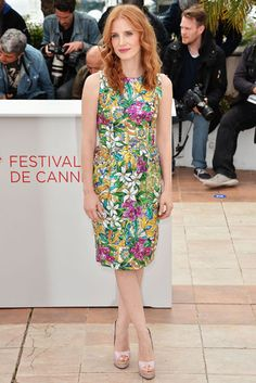 Celebrities hit the mark in flowing summery sundresses.