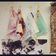 Some work from MMU 'textile design for fashion' final year students, digital print samples  #webstagram