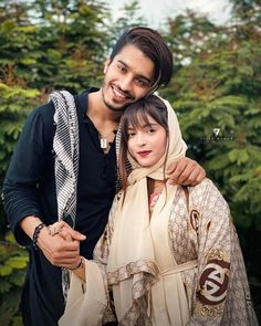 Cute Love Couple, Cute Girl Pic, Sweet Couple, Beautiful Couple, Cute Girls, Muslim Couple Photography, Girl Photography Poses, Couple Memes, Social Media Stars