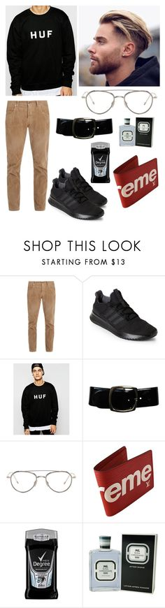 """""""jonas"""" by nhxnhi ❤ liked on Polyvore featuring Gucci, adidas, HUF, Chanel, Thom Browne, Supreme, Royal Copenhagen, men's fashion and menswear"""