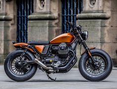 Awesome V9 Bobber   #bikers