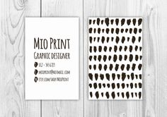Black And White Business Card – will be resold – template, custom, premade, identity, branding, business card, digital, printable, design. by MioPrint on Etsy https://www.etsy.com/listing/196858184/black-and-white-business-card-will-be