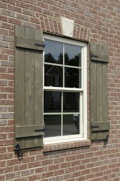Charmant Marvelous Custom Shutters Exterior