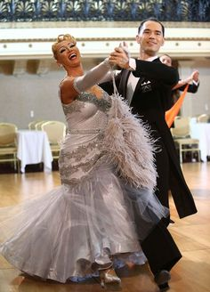 Letting out some International Style ballroom dance joy at the New York Dance Festival 2015   With Charlene Proctor and Michael Choi.  https://www.facebook.com/photo.php?fbid=10153066765794424