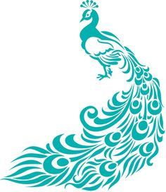 So You Think You're Crafty: Peacock Painting Tutorial Peacock Painting, Peacock Art, Peacock Design, Peacock Logo, Peacock Drawing, Purple Peacock, Peacock Outline, Peacock Vector, Peacock Pattern
