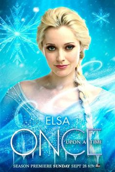Once Upon a Time - Elsa Poster - once-upon-a-time Photo
