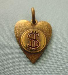 Jewelry Adviser Charms 14k Dollar Sign Charm