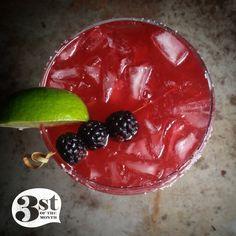 Salted Blackberry Margarita