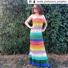 Más de 50 patrones de vestidos de ganchillo gratuitos elegantes y espectaculares para 2019 - Page 36 of 55 - Blog de Ganchillo Crochet Gratis, Crocheting, Strapless Dress, Sewing, Blog, Dresses, Fashion, Scrappy Quilts, Modern Crochet