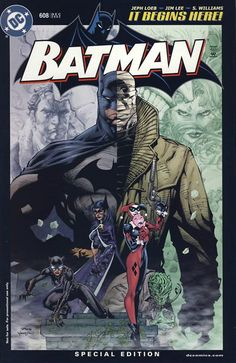 Rare (and valuable) Batman 608 RRP variant.  Click on the picture for more information...